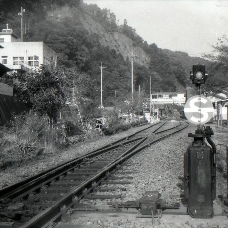 あるローカル線の駅にて
