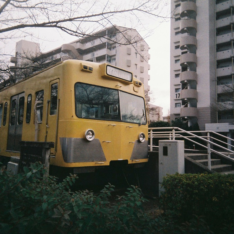 廃電車の有効利用