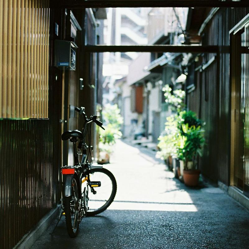 中崎町の自転車