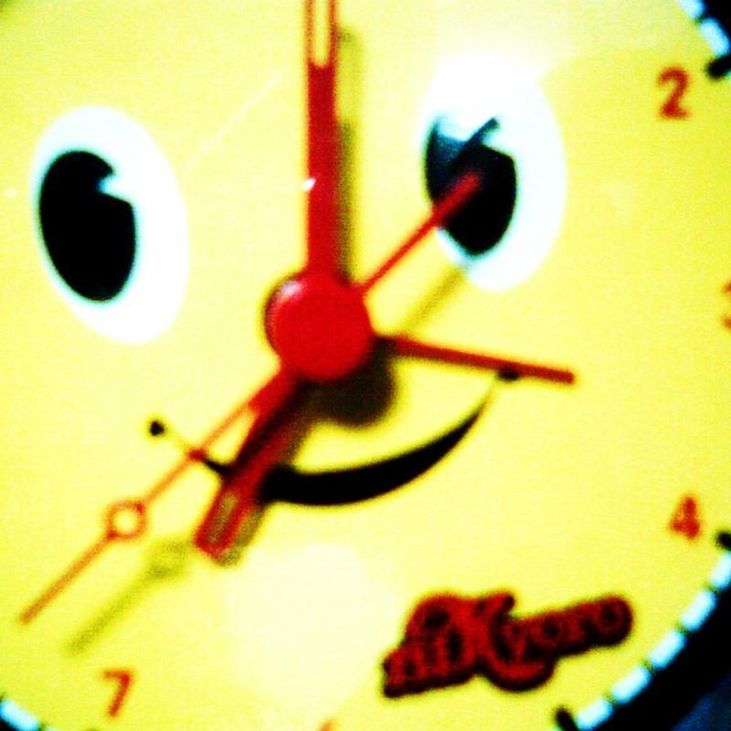 7時だよ♪