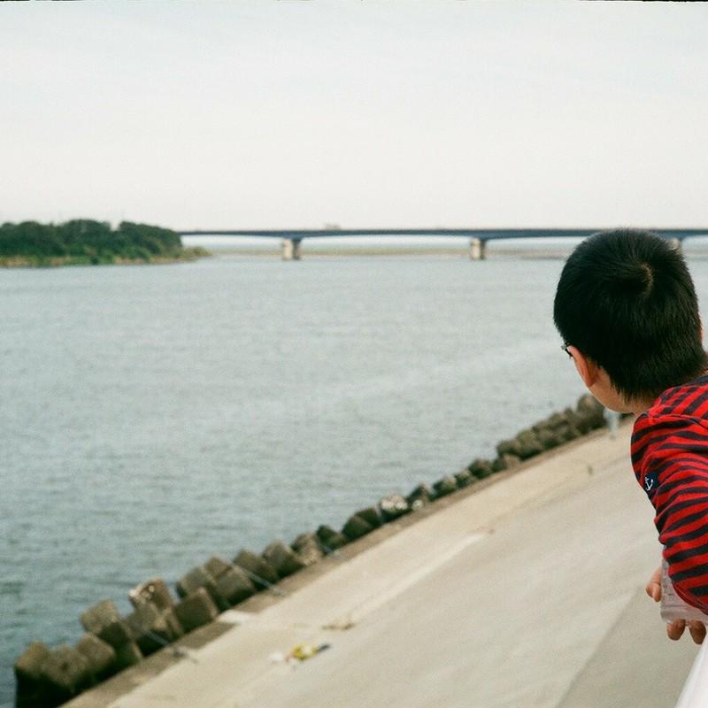 さっきはあの橋にいたんだよね…