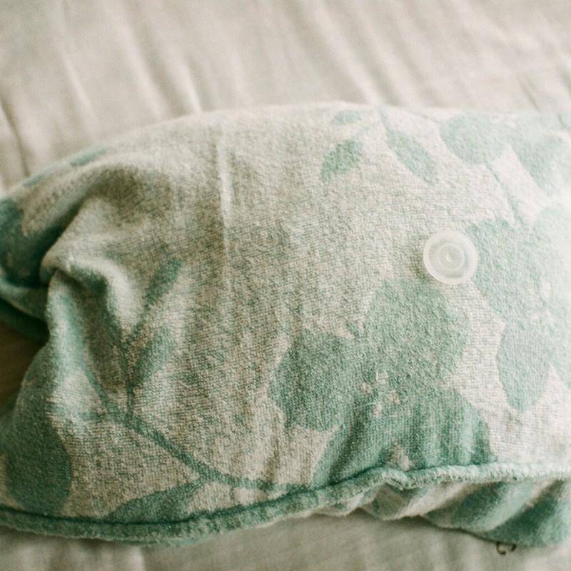 枕とキャップで