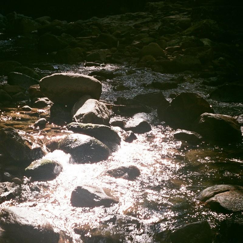 川のキラキラ