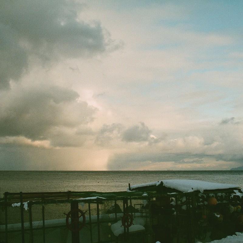 津軽海峡上のホライゾン