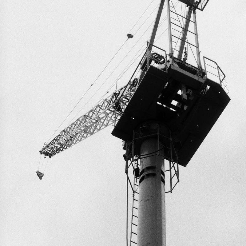 Monochrome Crane