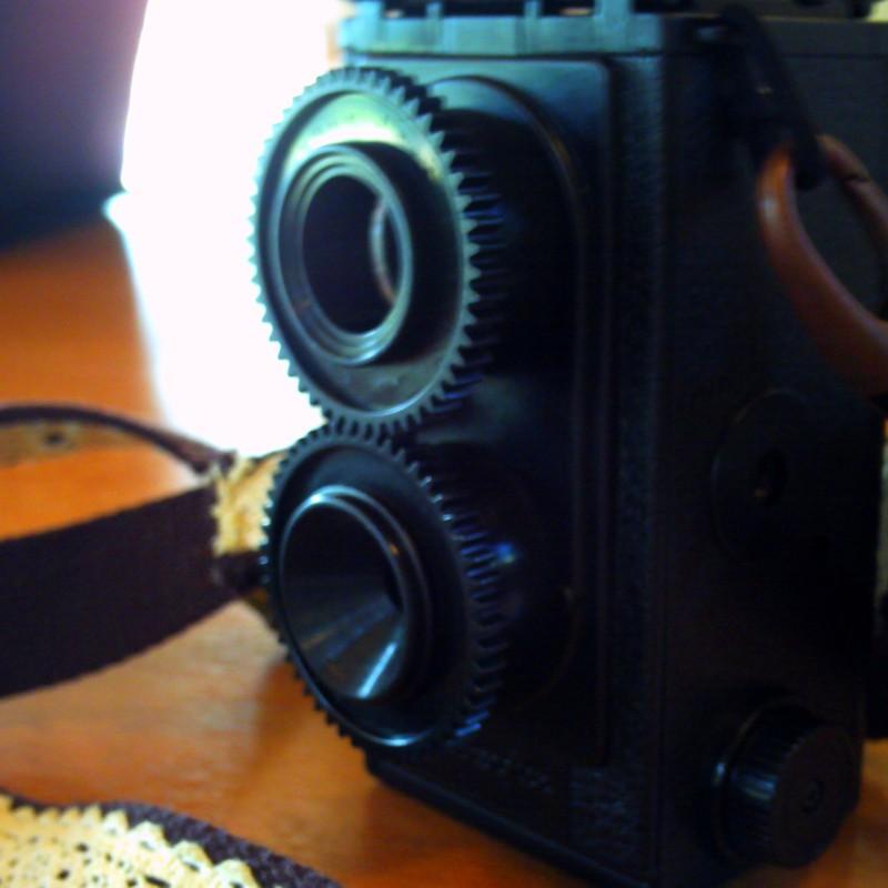 カメラでカメラを撮る