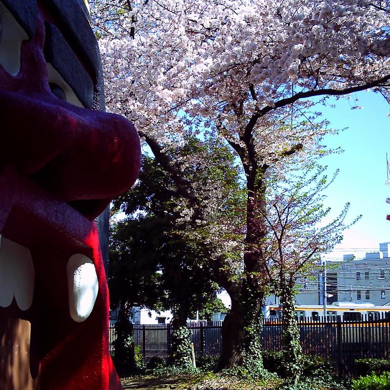 春と鬼と電車