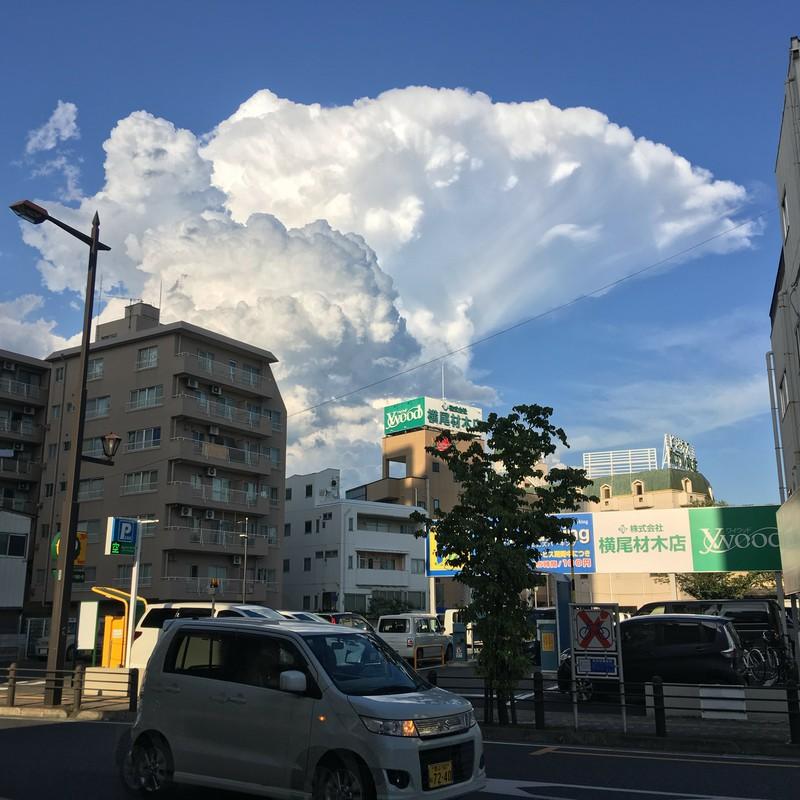 キノコ雲。