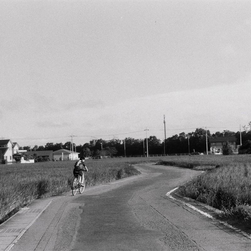 自転車で駆け抜けた夏。