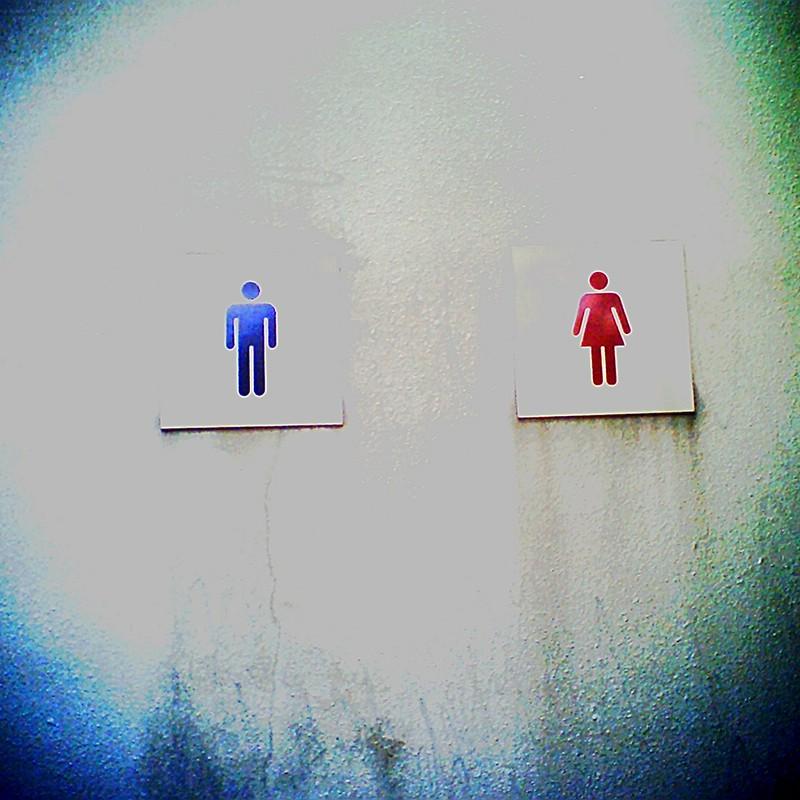 ノイジーなトイレ。