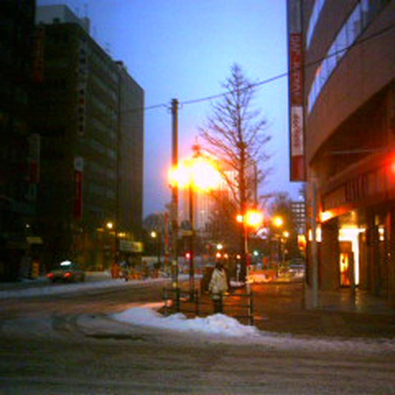 札幌・大晦日の朝