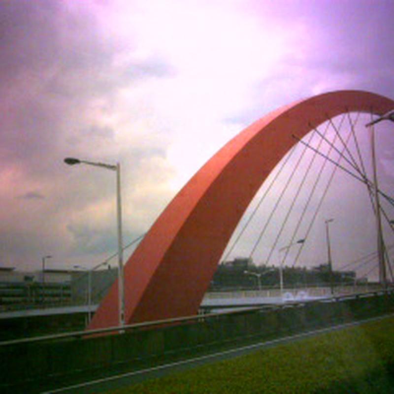 羽田空港のあの橋