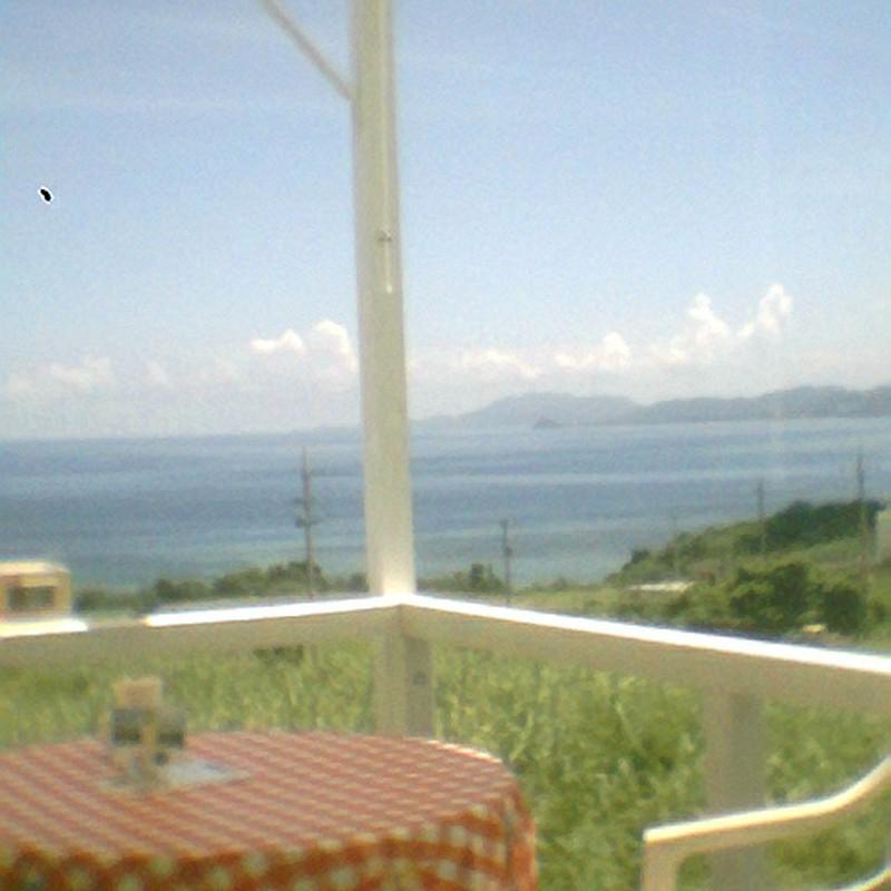 海カフェからの眺め~ビスケットカメラver.~