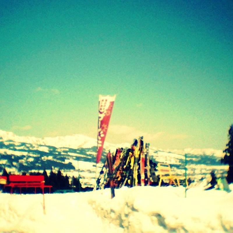 憩いの場@スキー場