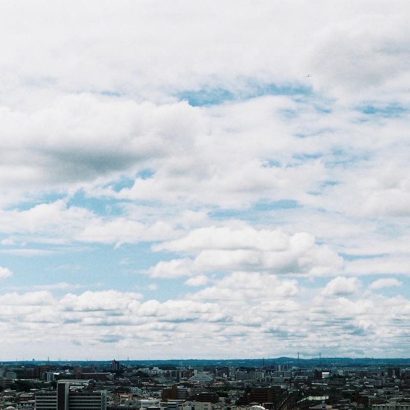 雲もくもく