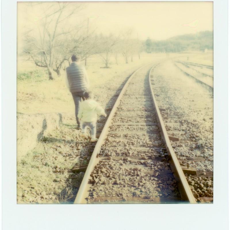 同じ道を歩んでいる、ただ、先か、後か、それだけのこと、そんな事を考えた、冬の午後。