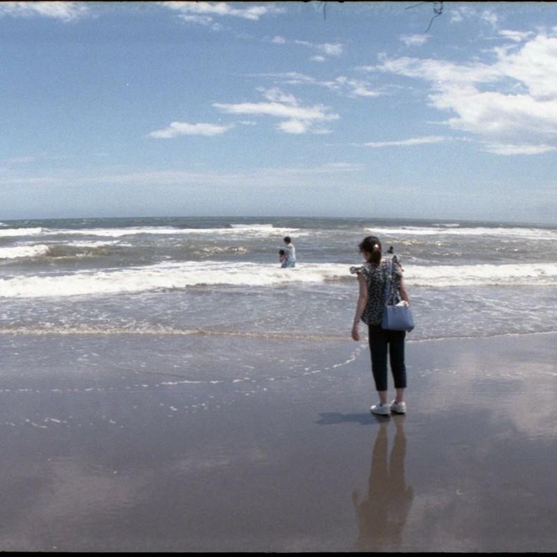 波打ち際で捕まえて