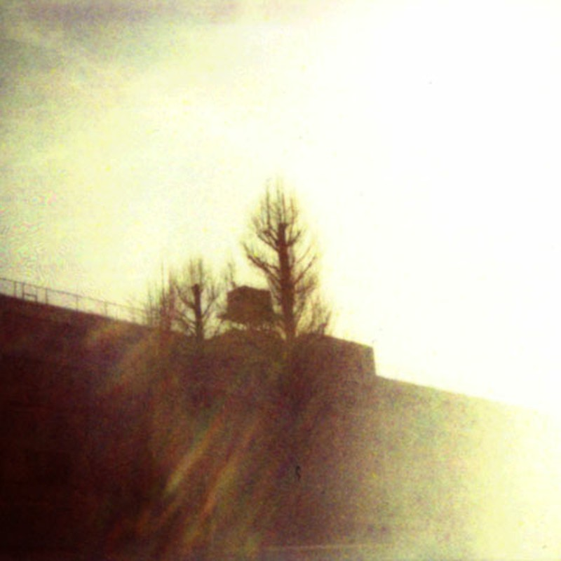 陽光に溶ける建物