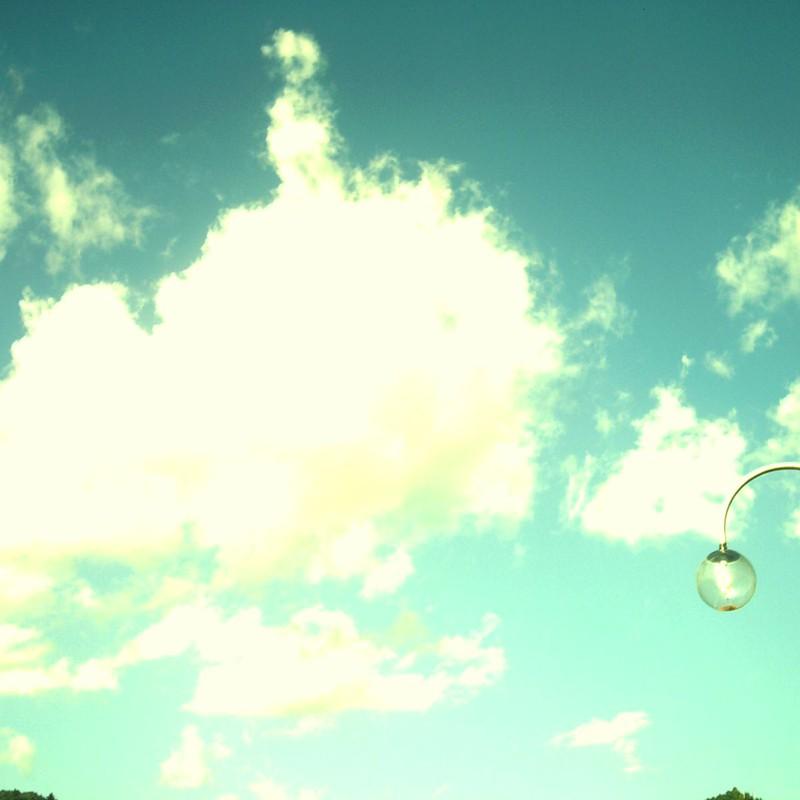 サファイアの空。