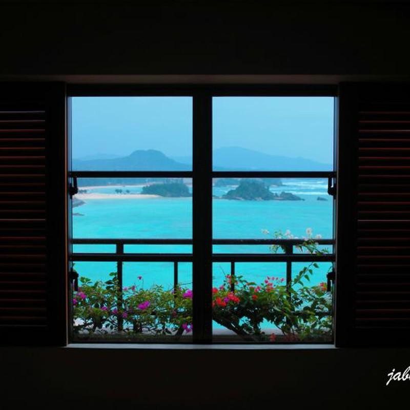 Tropical blue