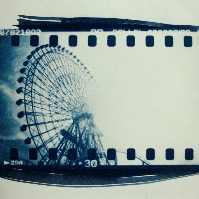 Ferris wheel of light