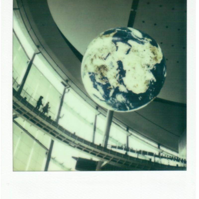 まわる地球