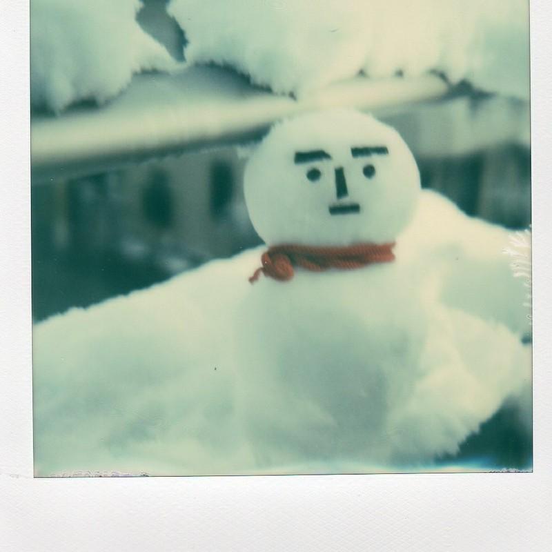 雪だるまつくろう♪