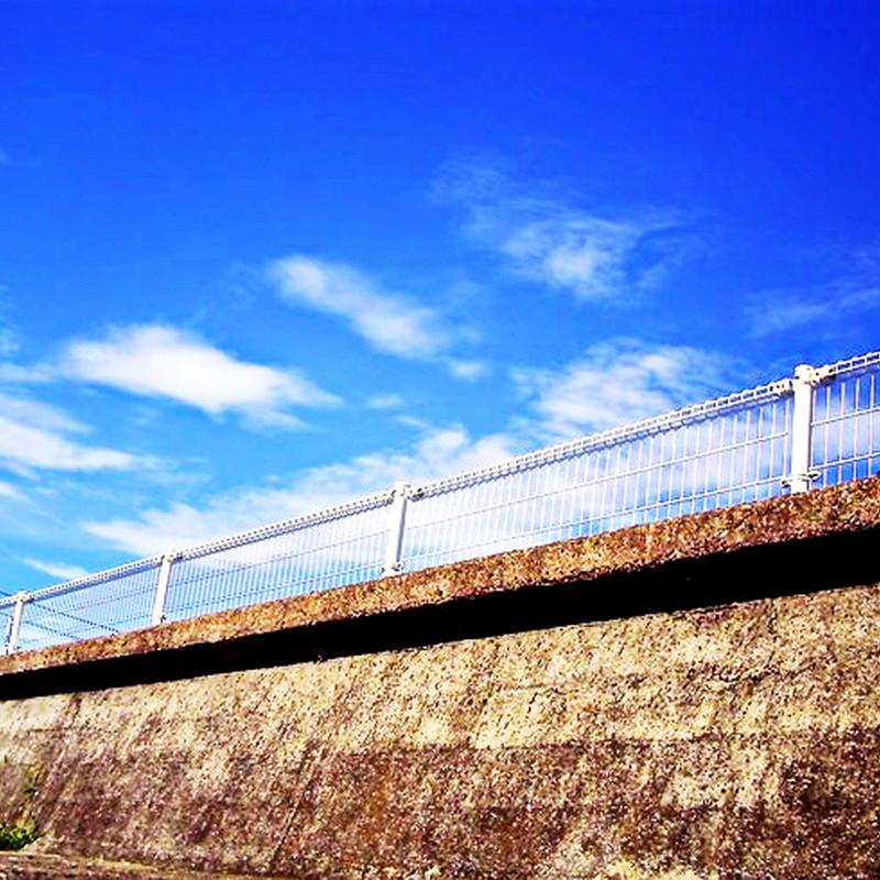 フェンスと空