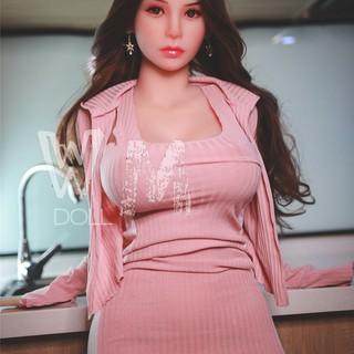 Asiatische Sexpuppe mit Silikonkopf 163CM - Xiaoke