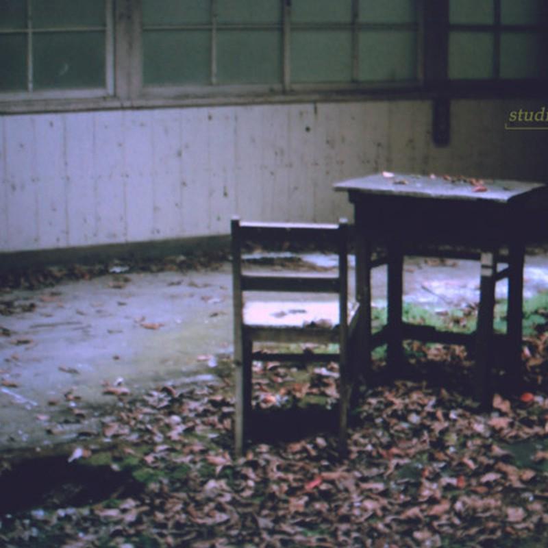 朽ちた教室