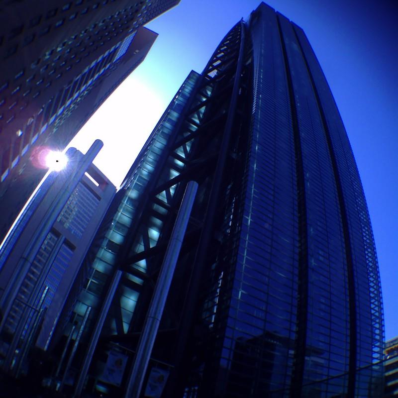 青い日テレタワー