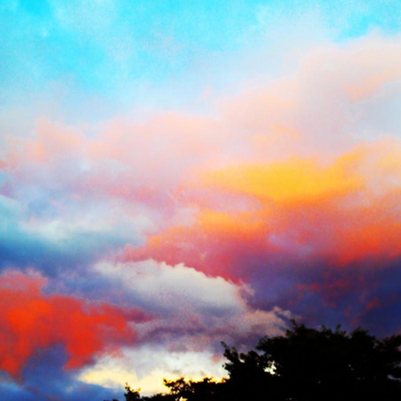 絵画のような夕焼け