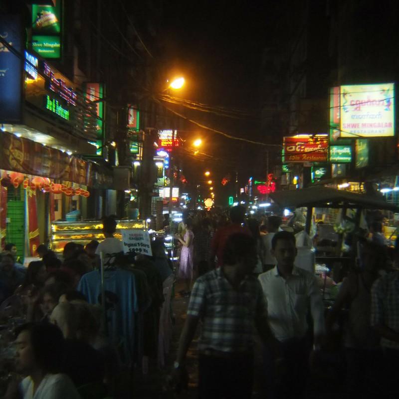 アジア 夜の街
