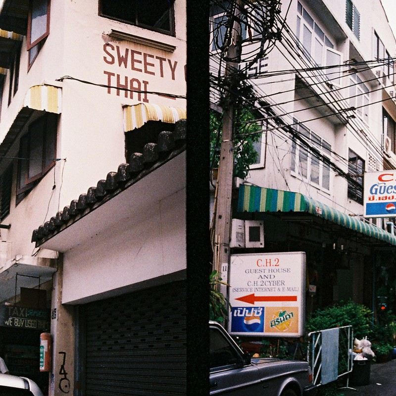 バンコクの安宿街1998