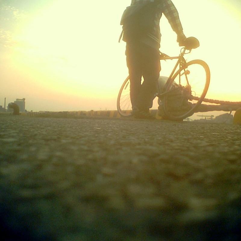 夕日を見に寄り道