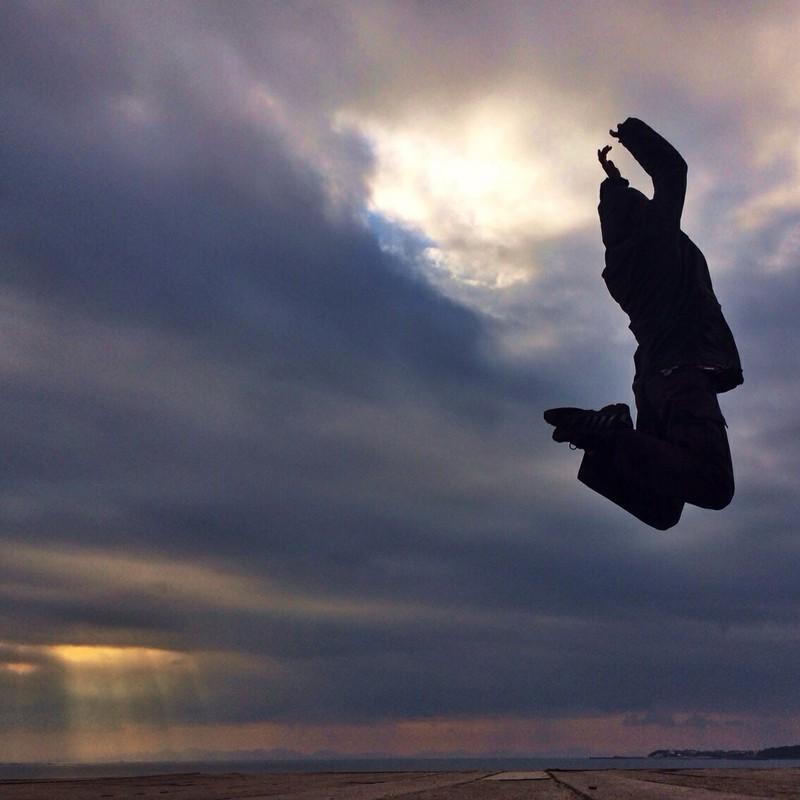 先月1番のジャンプ