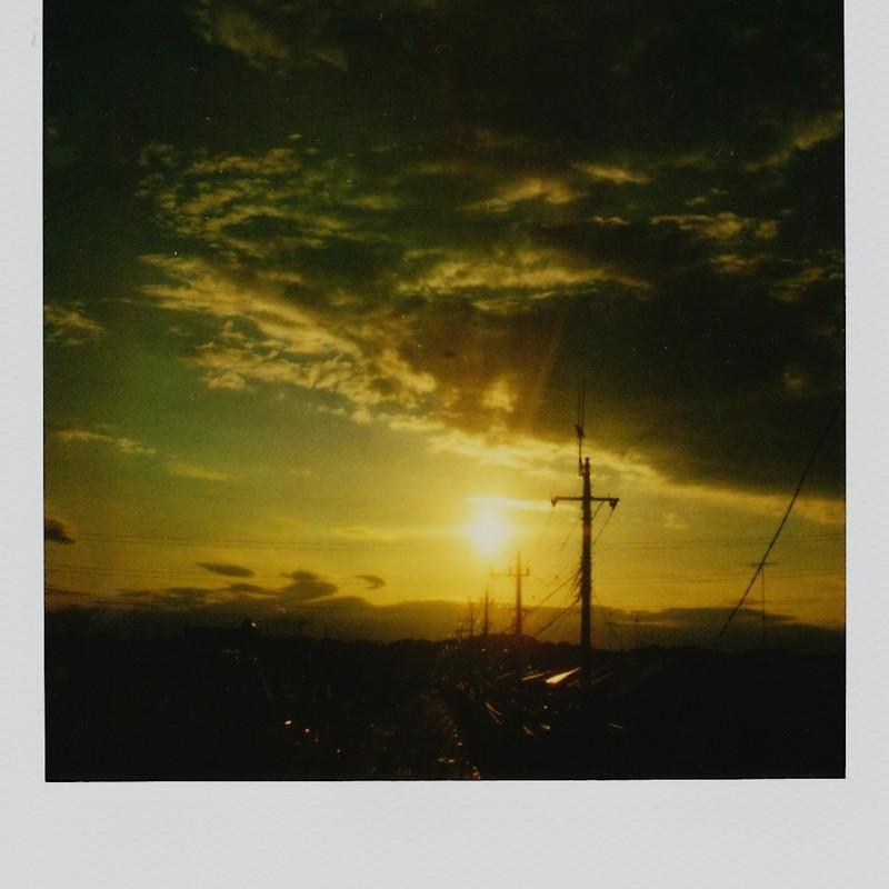 夏の夕焼け空