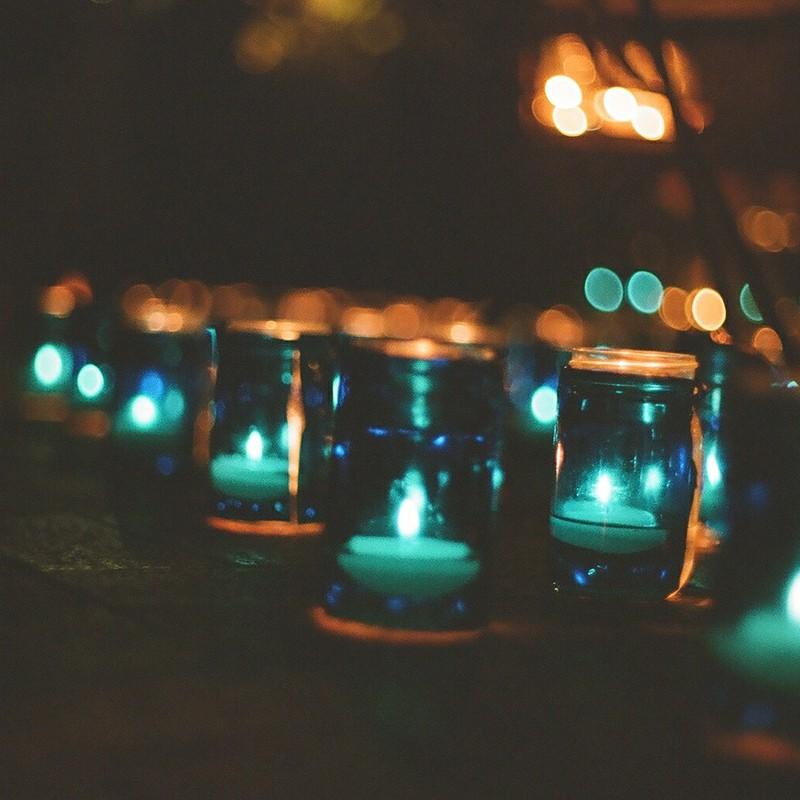 青い灯り*