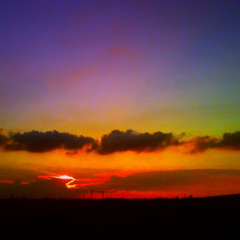 夕焼けグラデーション