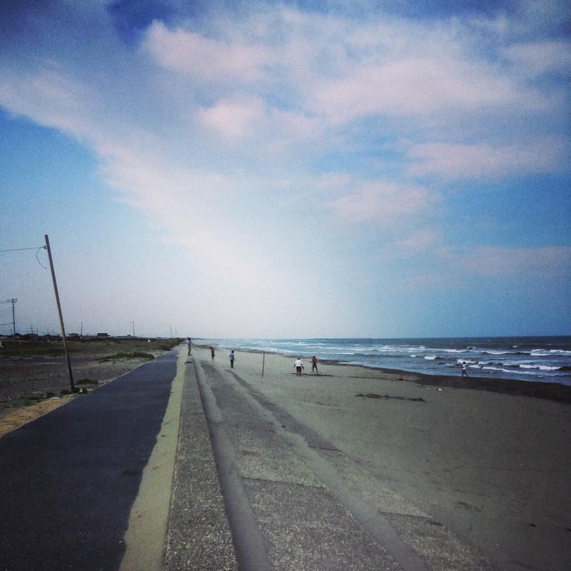 九十九里浜ー