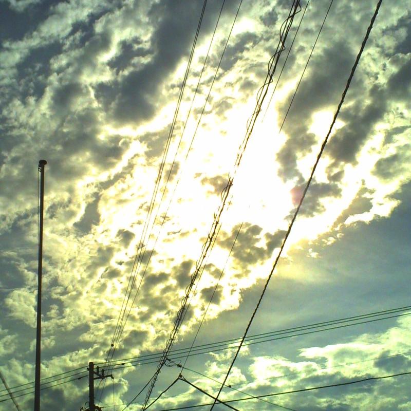 雲がすごいんだ