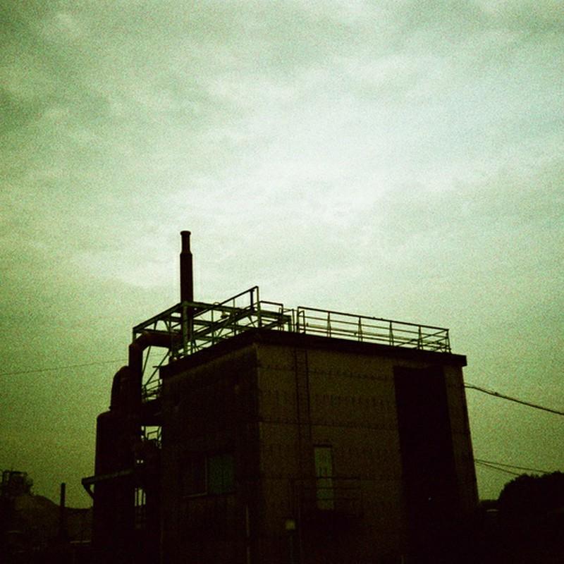 お休み中の工場