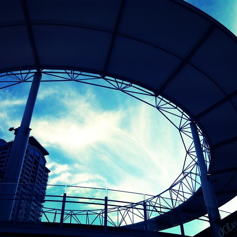 サークルと空