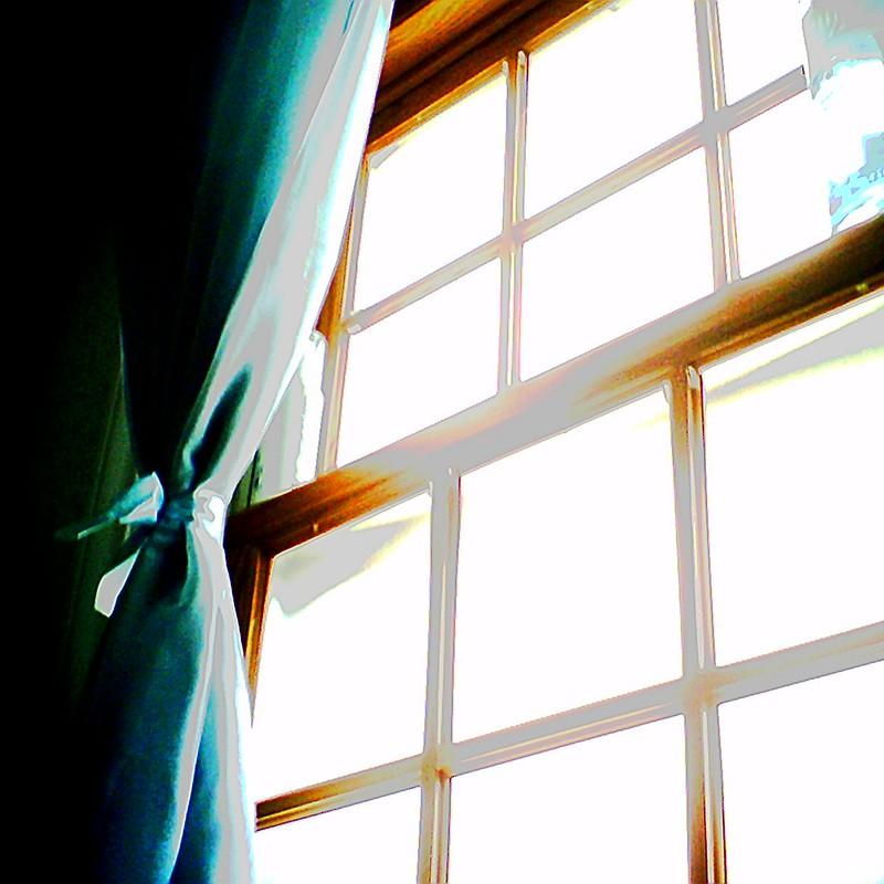 窓から射す光