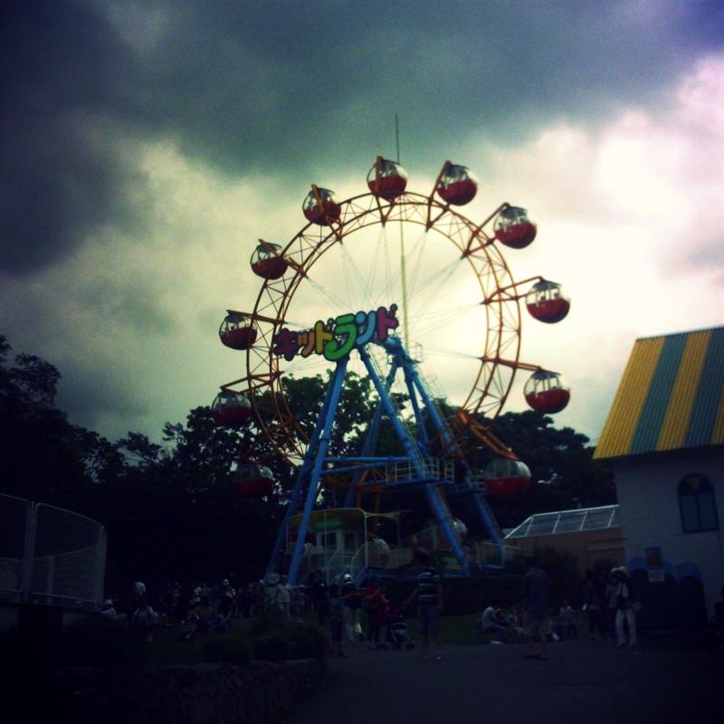 遊園地の風景④
