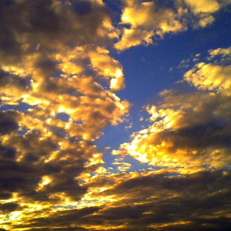 天上の黄昏