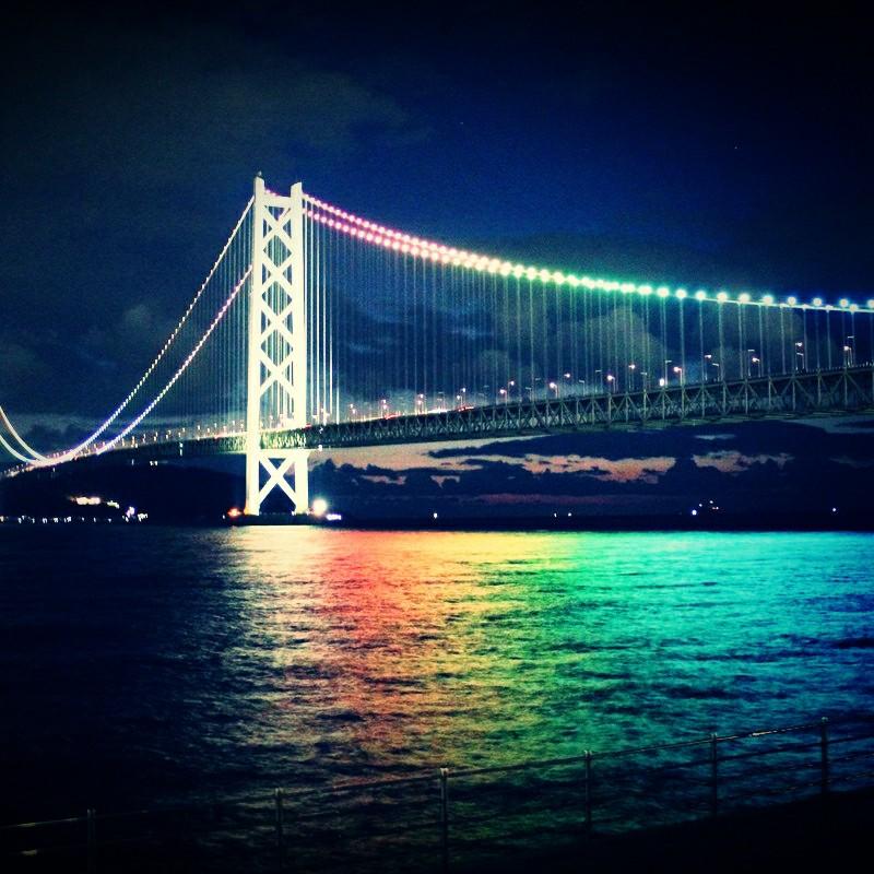 虹の海(トイカメラ風バージョン)