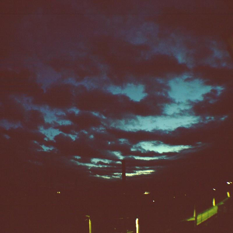夜明けです。at魚眼