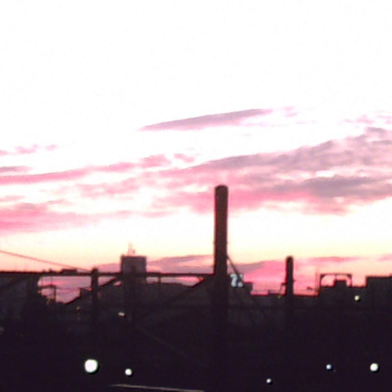 夜明け。。キレー