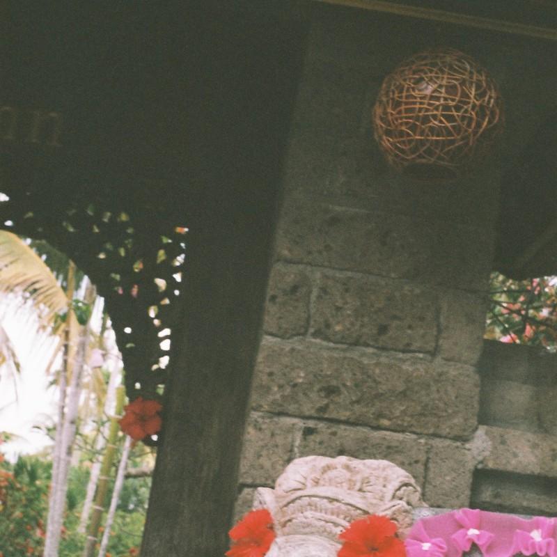 バリ島にて